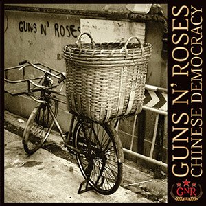 Portada del Disco Chinese Democracy