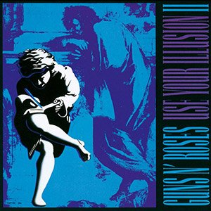Portada del Disco Use Your Illusion II
